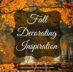Fall Decorating Inspiration