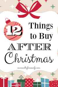 12 Things to Buy AFTER Christmas