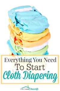 Everything You Need to Start Cloth Diapering