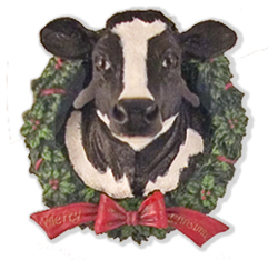 Cow Christmas Gifts And Ornaments