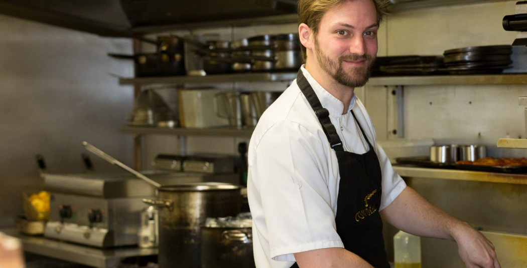 Ben Head Chef Cafe