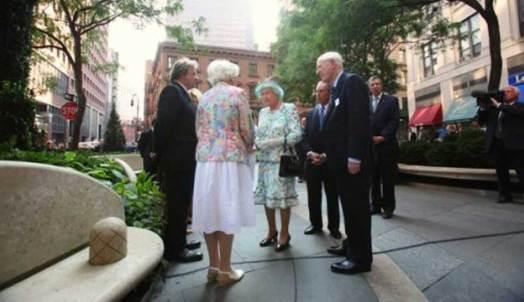 Her Majesty Queen Elizabeth II The British Memorial Garden Trust