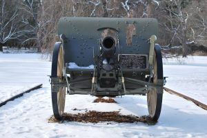 German Howitzer Cannon at Greeley Park. Photograph courtesy of John R. Bolduc, Nashua NH native.