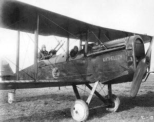 """278th Aero Squadron - Dayton Wright DH-4 """"Katheleen"""". From Wikipedia."""