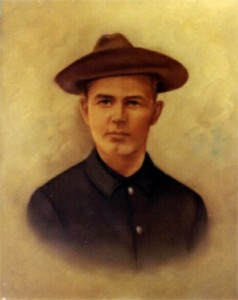 Likeness of James J. Manning (1877-1965) who served during the Spanish-American War.