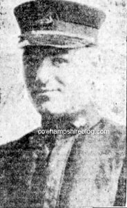 Photograph of John B. Ahern from the Boston Post, October 1918