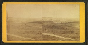 Bird's eye view of Manchester, from Rock Rimmon, A.D. Stark Publisher, taken between 1865-1872, from Robert N. Dennis collection of steroscopic views, Photography Collection, Miriam and Ira D. Wallach Division of Art, Prints and Photographs, NYPL Digital Library