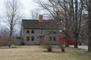 """Called """"Fort Acres,"""" when Omer Lassonde lived here, this property at 150 King Street in Boscawen today is known as the Robie-Merrill House. Photograph Copyright Debbie LaValley. Used here with her permission."""