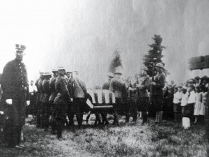 Burial of Joseph Guyette in Calvary Cemetery, Penacook NH. Photograph courtesy of Ruth Speed, used with her permission.