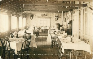 Camp Otter Dining Room