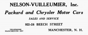 1926 Manchester City Directory advertising