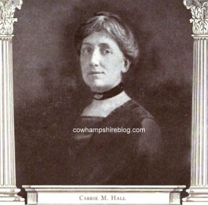 Carrie M. Hall from Makers of Nursing History watermarked