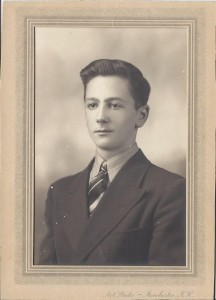Charles W. Blanchard as a young man. Photograph property of Judith Hardy, his great-niece, used with her permission.