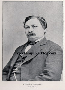 Photograph of Edward Wagner, father of Ottilie (Wagner) Hosser, for whom  (along with his wife, Wilhelmina) the park was originally dedicated, and   where it gets its name.