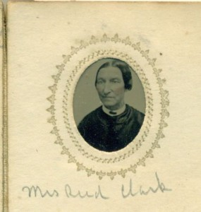 Elizabeth (Perkins) Clark, wife of Reed P. Clark of Londonderry NH