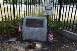 Fletcher Murphy Park memorial, Concord, New Hampshire
