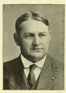 Photograph of Frederick Everett, from The Granite Monthly, Vol 56, No. 2, February 1924