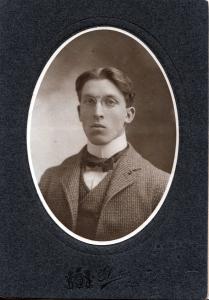 Charles Frederick Goldthwait of Nashua NH, probably around his high school graduation.