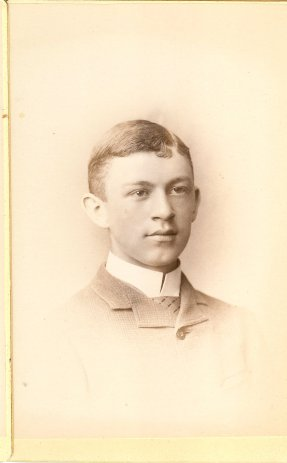 Geo W Bartlett, Class of 1888 [Manchester NH High School portrait]