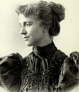 "Ellen C. ""Katherine E."" (Prichard) Hoyt MD. Photograph from History of Nashua, NH by Judge Edward E. Parker, 1897"