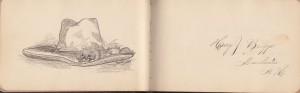 Harry J Briggs sketch