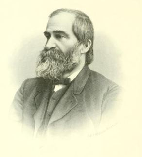 Hon. Charles Doe, Chief Justice of the NH Supreme Court. Photograph from Memoir of Hon. Charles Doe, late chief justice of the Supreme court of New Hampshire (1897).