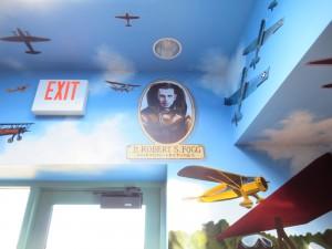 Hand Painted Murals NH Aviation Museum