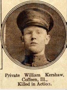 KERSHAW William coffeen ILL