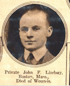 LINDSAY John Boston MA