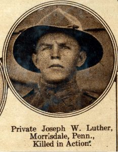 LUTHER Joseph W Morrisdale PA