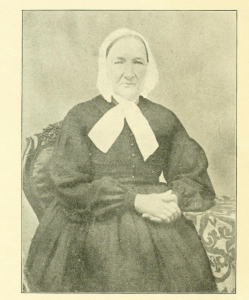 Photograph of Mary French Phelps from History of Northfield NH