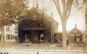 Hammond Home and physician's office on Main Street in Nashua, NH, near the corner of Pearl, circa 1903.