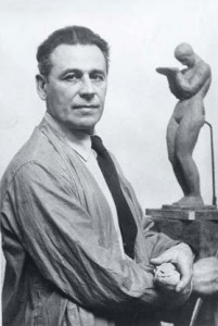 Richard H. Reccia. Richard H. Recchia in his studio, Peter A. Juley & Son Collection, Smithsonian American Art Museum J0071743