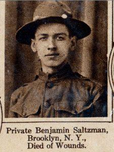 SALTZMAN Benjamin Brooklyn NY