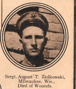 ZIOLKOWSKI August T Milwaukee Wis