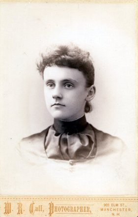 Alice M. Stuart, 1888 graduate of Manchester (NH) High School.
