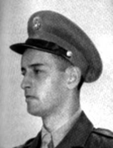 Christos H. Karaberis aka Chris Carr in uniform.