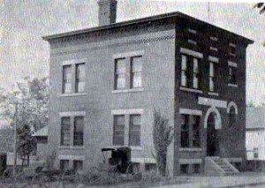 Older photograph of Penacook's Police Station. Courtesy of Ruth Speed.