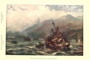 ruin of spanish fleet