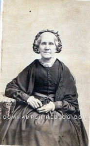 "Sarah Chase ""Sallie"" (Tibbetts) Salter, sea captains wife of Portsmouth NH"