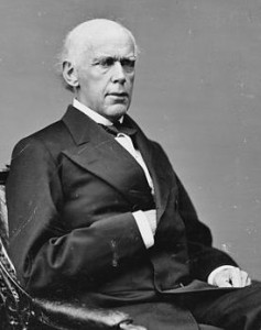 Photograph of Chief Justice Salmon P. Chase, taken between 1860 and 1875, Brady-Handy Collection, Library of Congress Prints and Photographs Division, Washington D.C. http://www.loc.gov/pictures/item/brh2003001158/PP/
