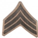 WWI Sergeant insignia