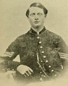 "Photograph of Henry F.W. Little during wartime, from ""The Seventh Regiment New Hampshire Volunteers in the War of the Rebellion,"" by Henry F.W. Little."