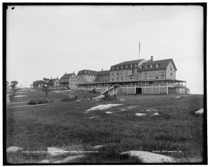 Oceanic Hotel and cottages, Star Island, Isles of Shoals, NH, c1900-1906; Library of Congress Prints and Photographic Division