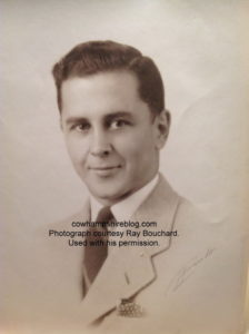Roland Metivier, high school graduation photograph, Central High (Class of 1936A). Photograph courtesy of his nephew, Ray Bouchard. Used with his permission.