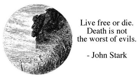 Motto: Live Free or Die | Cow Hampshire