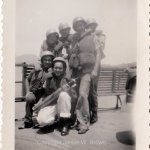 w009996 – crewmen at Manzanillo Mexico yms245