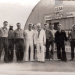 w009999996 Hawaii motor pool Dad on far right WW2