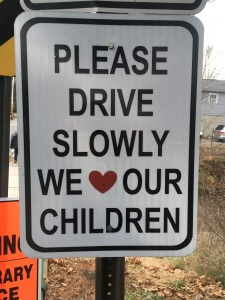 Drive Slow*ly*