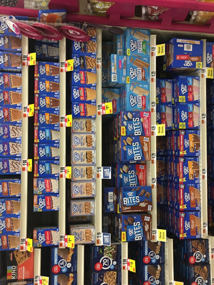 The Wall of Pop-Tarts